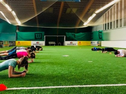 Athletiktraining mit BGV Trainer Simon Dengler